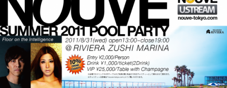 "Finally,The day is coming! ""NOUVE™ SUMMER 2011 POOL PARTY"" is today!"