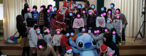 Christmas gifts to orphanages in Fukushima